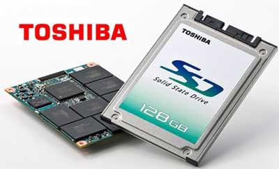 SSD накопитель Тошиба